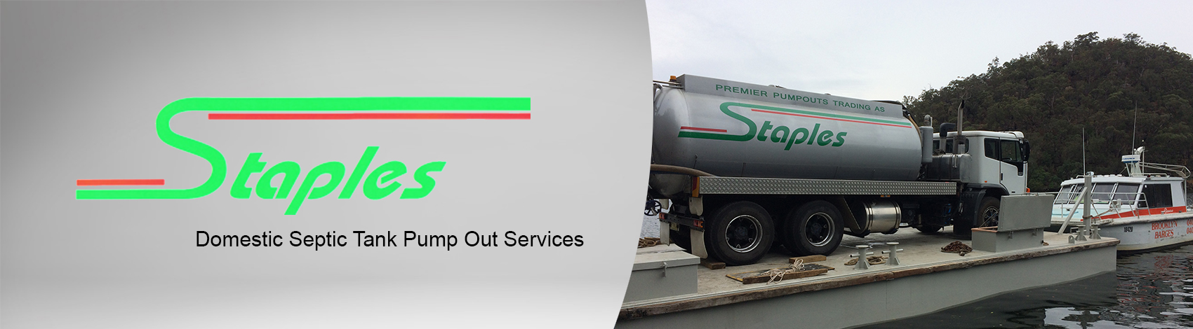 Staples Bros - Domestic Septic Tank Pump Out Services